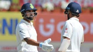 India vs Sri Lanka, 2nd Test, Day 2: Murali Vijay, Cheteshwar Pujara dominate before lunch