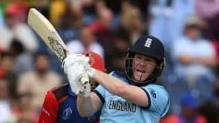 England's Eoin Morgan shatter world record for most sixes in an ODI innings