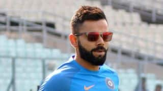 Virat Kohli helps TV crew get treatment after being hit by ball