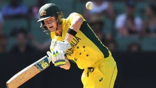 Australia steady innings following 2 quick loss of wickets against Ireland in one-off ODI at Belfast