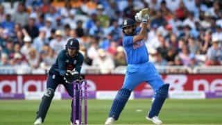 England vs India, 1st ODI: Rohit Sharma smashes 18th century