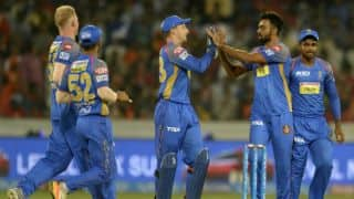 Indian T20 League 2018: Ben Laughlin bowls 7 legal deliveries against Hyderabad
