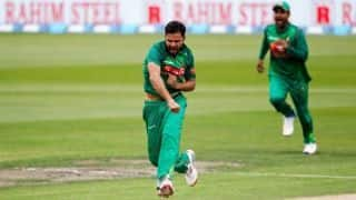 Mashrafe Mortaza: My aim is to play until the World Cup 2019