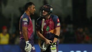 IPL 2017: MS Dhoni did what he is known for, says Steven Smith after Rising Pune Supergiant (RPS) beat Sunrisers Hyderabad (SRH)