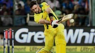 वनडे में टॉप ऑर्डर में बल्लेबाजी करना अच्छा होगा : ग्लेन मैक्सवेल