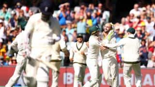 The Ashes 2017-18, 2nd Test, Day 3: England trail Australia by 223 runs at dinner