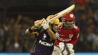 Gautam Gambhir given out erroneously in IPL 2014 match against Sunrisers Hyderabad