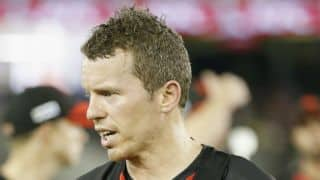 Peter Siddle to feature in IPL 2018 auction list