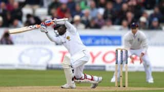 Sri Lanka go into Tea at 162-3 against England on Day 3; trail by 235 runs in 2nd Test