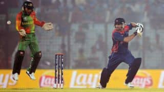 ICC World T20 2014: Bangladesh restrict Nepal to 126/5