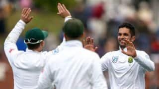 Keshav Maharaj's 6-for inspires South Africa to 1-0 lead vs New Zealand in Test series
