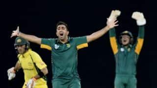 Tri-nation series 2016: Tabraiz Shamsi makes impact on his international debut