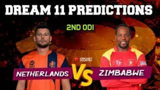 NED vs ZIM Dream11 Prediction, 2nd ODI: Best Playing XI Players to Pick for Today's Match between Netherlands and Zimbabwe at 2:30 PM