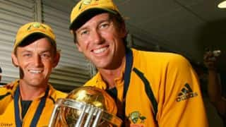 Adam Gilchrist 'apologises' to Glenn McGrath on Twitter