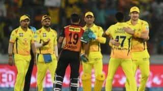 IPL 2018 के फाइनल से पहले केवल 5 मिनट चली थी CSK की टीम मीटिंग
