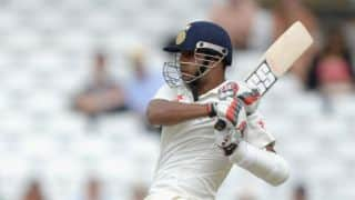 Stuart Binny scores fifty on Test debut against England