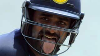 "Lahiru Thirimanne fined for ""showing dissent at an umpires' decision"""