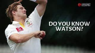 QUIZ: How well do you know Shane Watson?