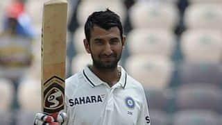 India vs England 1st Test: Cheteshwar Pujara registers 9th Test ton
