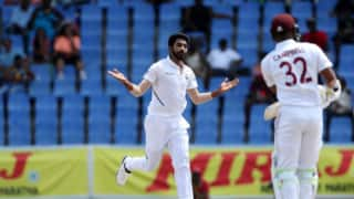 Jasprit Bumrah urges bowlers not to get carried away on bouncy wicket at Sabina Park