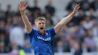 England vs West Indies: David Willey ruled out