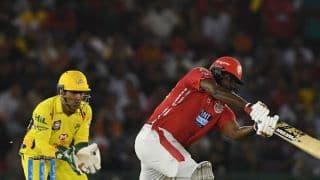 आईपीएल 2018 के अपने डेब्यू मैच में क्रिस गेल ने 22 गेंद पर अर्धशतक लगाकर उड़ाए चेन्नई के होश