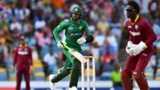 Pakistan vs West Indies, 1st T20I: Shoaib Malik stars in visitor's 6-wicket victory