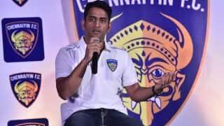 MS Dhoni congratulates Chennaiyin FC on their victory against FC Goa