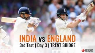India vs England, 3rd Test, Day 3 Live: India aim to extend lead beyond England's reach