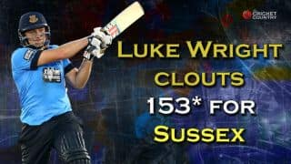 Luke Wright becomes fifth batsman to smash 150 runs in T20s: A statistical overview