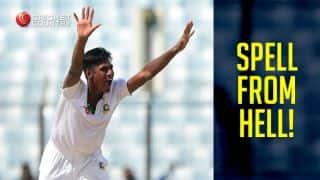 Mustafizur Rahman's triple strike dents South Africa