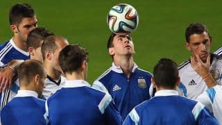 FIFA World Cup 2014 Live Streaming: Argentina vs Bosnia and Herzegovnia