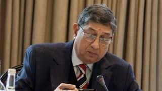 Srinivasan losing support from state bodies?