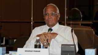 Sharad Pawar steps down as MCA President