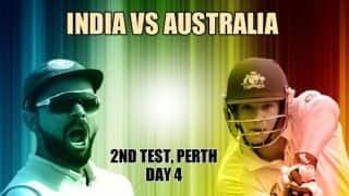 India vs Australia 2018 2nd Test Day 4 Live cricket score Optus Stadium Perth Latest Updates coverage highlights online