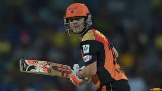 Sunrisers Hyderabad lose David Warner, KL Rahul in SRH vs RR IPL 2015 Match 11