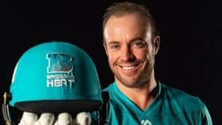 Big Bash League 2019-20: AB de Villiers will play For Brisbane Heat, replaces Brendon McCullum