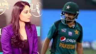 पाक बल्लेबाज बाबर आजम ने महिला पत्रकार से कहा- 'अपनी लिमिट में रहो'
