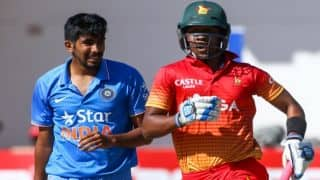 Zimbabwe's 5th, 6th, 7th wicket repeat 2013 stance against India in final ODI at Harare