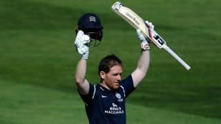 Eoin Morgan smashes ton for Middlesex ahead of Australia series