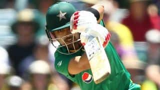 Babar Azam, Sharjeel Khan lift Pakistan to 263/7 vs Australia in 3rd ODI at WACA, Perth