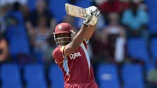 West Indies shade England by 15 runs in 1st ODI in North Sound