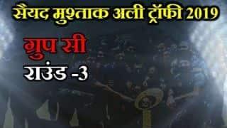 Syed Mushtaq Ali Trophy, Group-c, Round-3:  Shreyas Iyer century helps Mumbai to register 8 wicket win over Madhya Pradesh