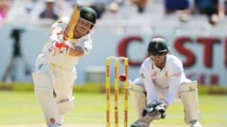 David Warner puts Australia in cruise control at lunch on Day 4 of 3rd Test