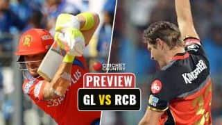 Gujarat Lions (GL) Vs Royal Challengers Bangalore (RCB), IPL 2017 Match 20, Preview and likely XI: Virat Kohli-led RCB eye vital win