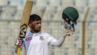 1st Test, Tea report: Mominul ton propels Bangladesh in West Indies Test