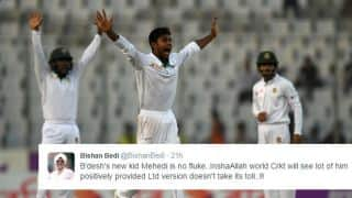 Bedi and others hail Hasan's brilliance in Mirpur Test against ENG