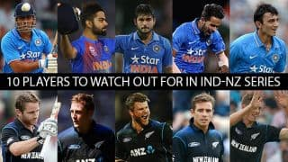 10 players to watch out for in India vs New Zealand ODI series