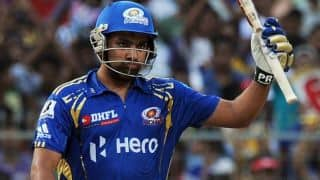 IPL 2012: Rohit Sharma scores 60-ball 109 against Kolkata Knight Riders