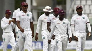 West Indies Test cricketer returns to practice for England tour